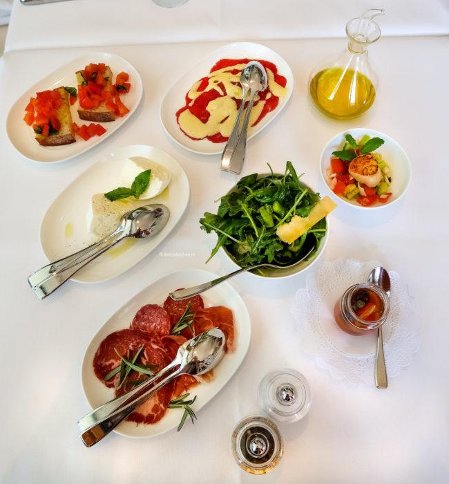 italiaanse zondagslunch bij Roberto's restaurant in Amsterdam © bettyskitchen.nl