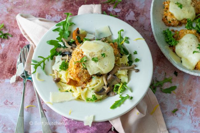 recept kip met parmezaanse kaas korst uit de oven kookvideo © bettyskitchen.nl