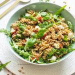 recept koude pasta salade voor de bbq