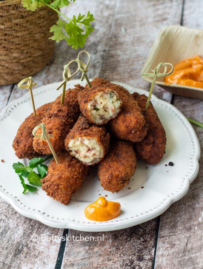 recept video croquetas de jambon - spaanse kroketjes met seranoham tapas © bettyskitchen