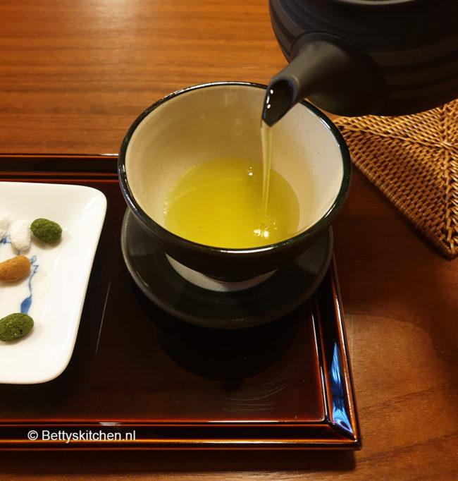 Groene thee Japan