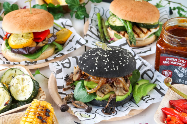 broodje pulled mushroom vegetarische streetfood party LIDL @bettyskitchen.nl