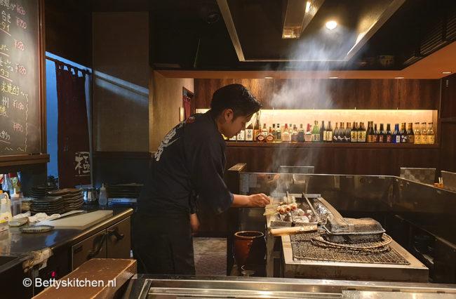 Yakitori restaurant Japan