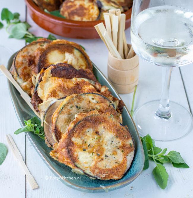 recept gebakken aubergines met kaas tapas © bettyskitchen.nl