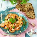 recept knoflook garnalen tapas weken © bettyskitchen
