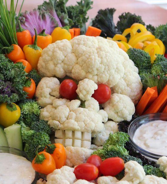 gezonde halloween snacks