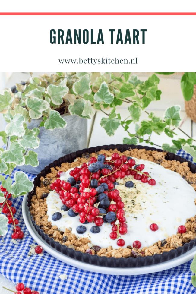 recept granola taartje met yoghurt © bettyskitchen