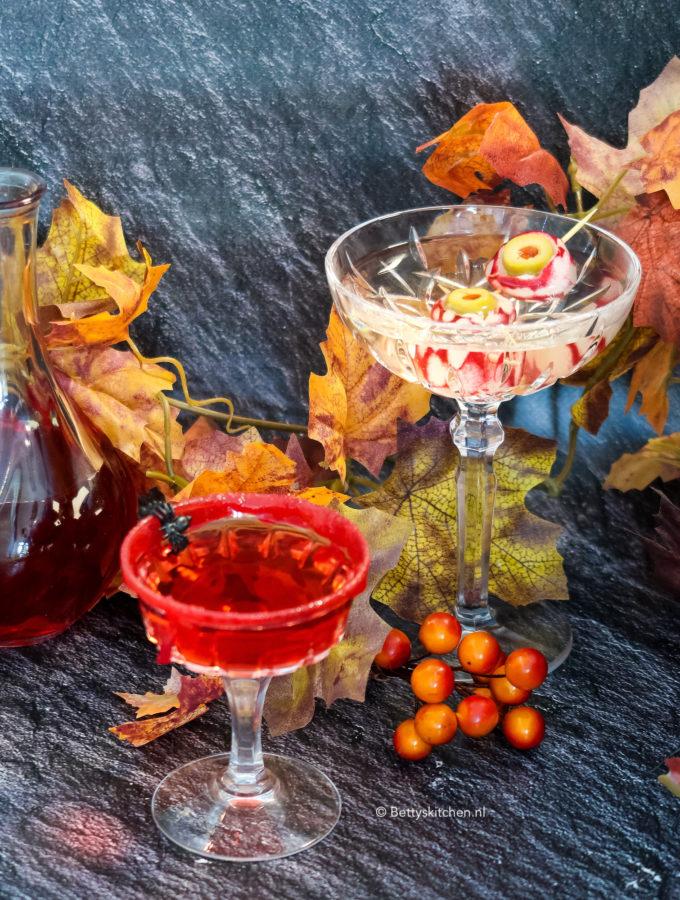 halloween cocktails decoratie van je glas © bettyskitchen