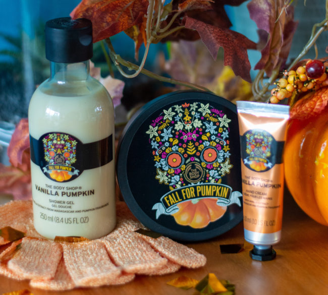 winactie The Body Shop producten Vanilla Pumpkin serie