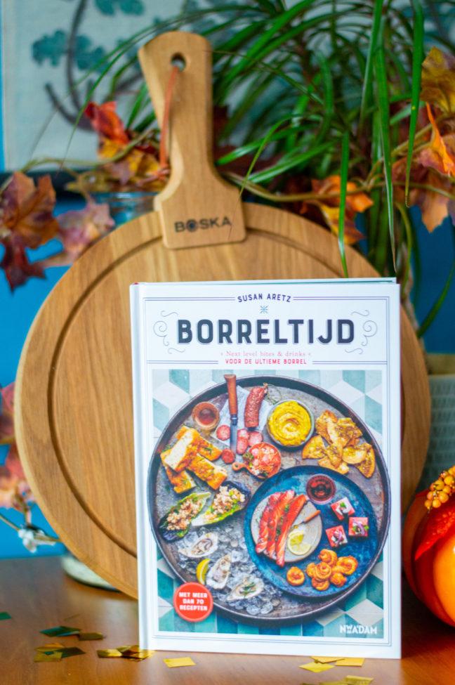winactie borreltijd kookboek Susan aretz