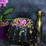 recept zwarte halloween tulband cake met chocolade