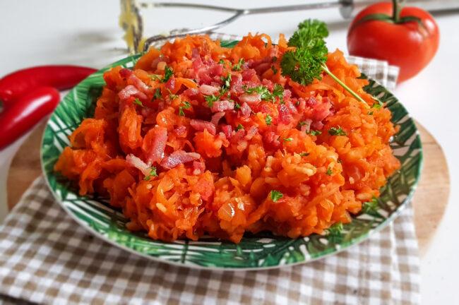 recept Surinaamse zuurkool stamppot met tomaat © bettyskitchen