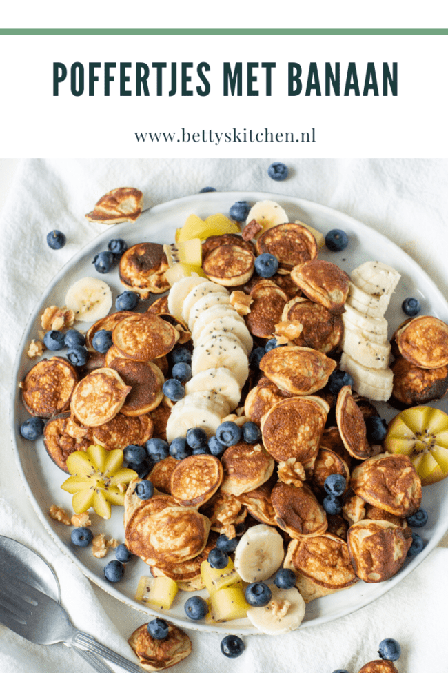 recept poffertjes met banaan © bettyskitchen