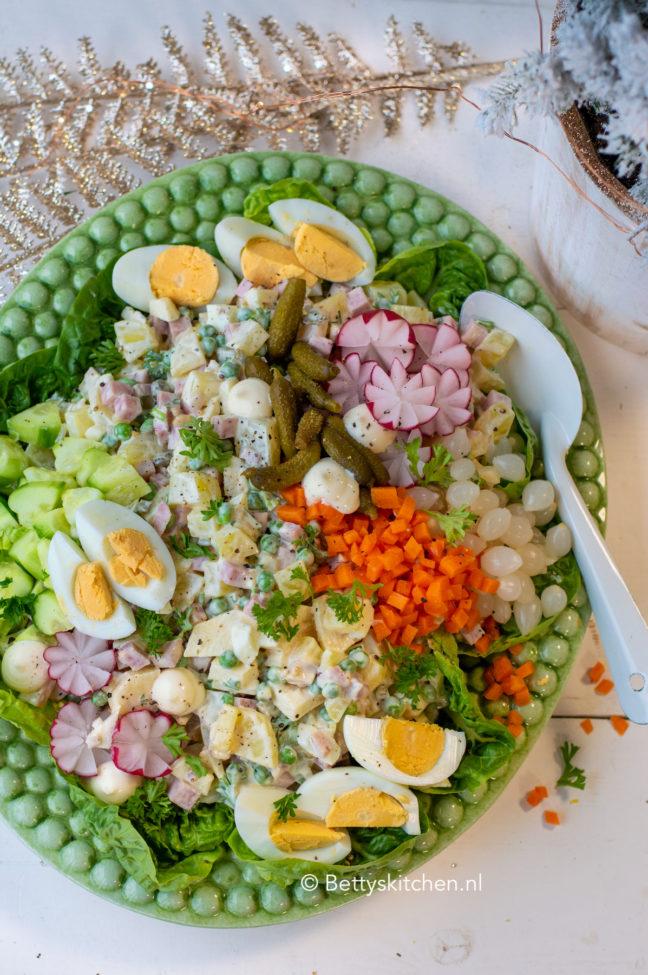 recept huzarensalade met tafelzuren van kesbeke © bettys kitchen