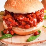 recept voor broodje sloppy joe gehakt met tomatensaus