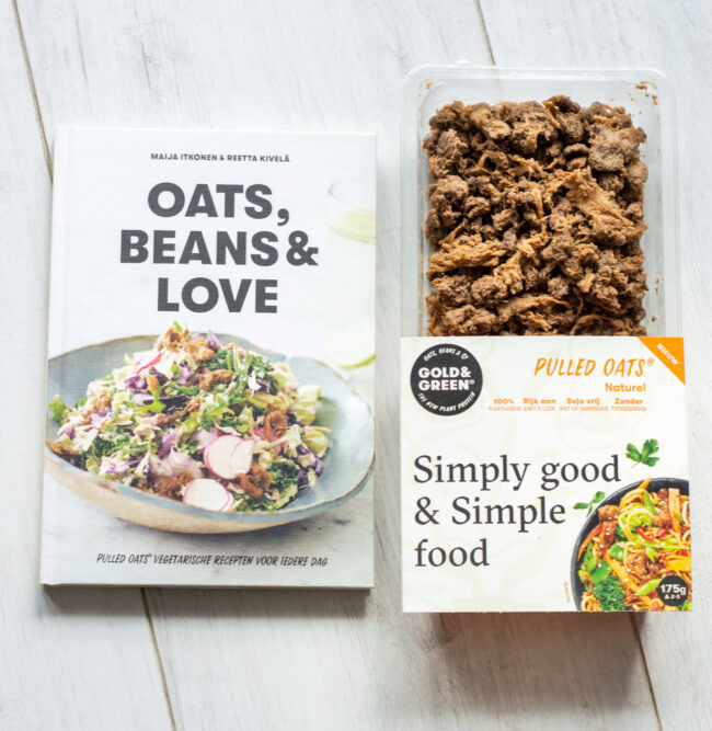 recept vegetarische enchilladas met pulled oats en bimi