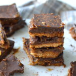 recept vegan millionaires shortbread © bettyskitchen.nl
