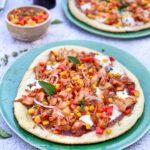 recept bbq pizza met pulled chicken © bettyskitchen.nl