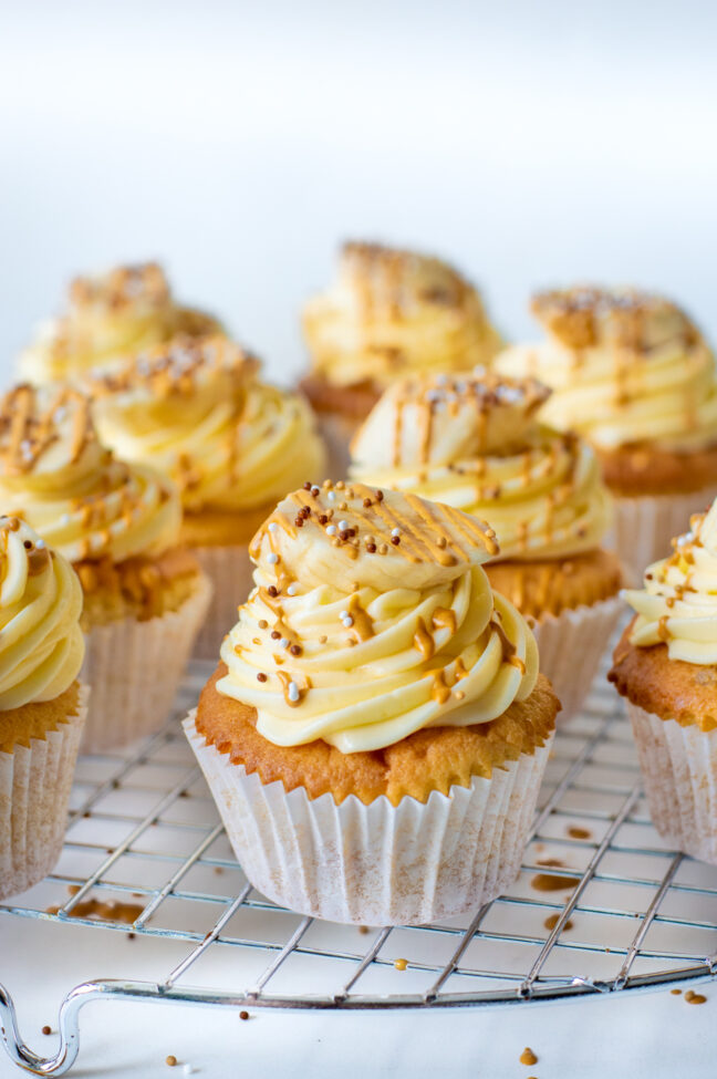 recept banoffee cupcakes © bettyskitchen.nl