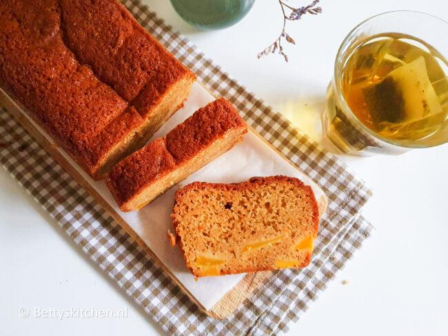recept cake met mango en sinaasappel