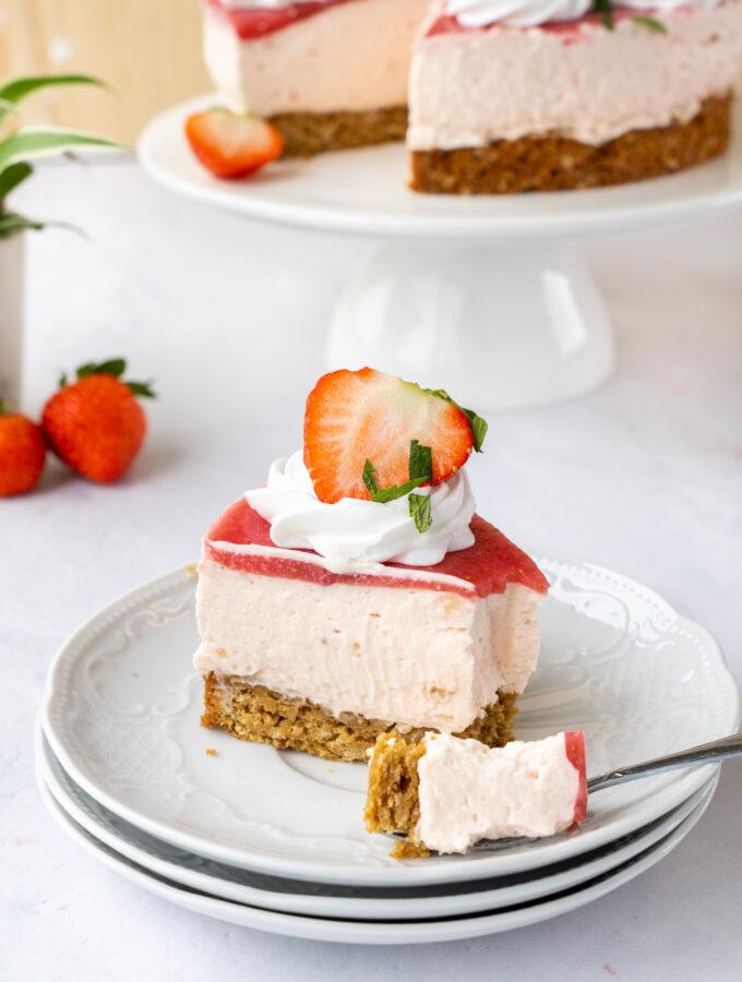 recept aardbeien bavarois taart © bettyskitchen.nl