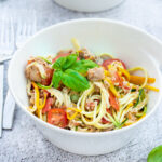 recept courgetti met tonijn © bettyskitchen