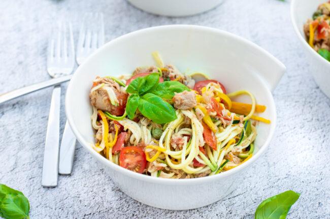 recept courgetti met tonijn © bettyskitchen