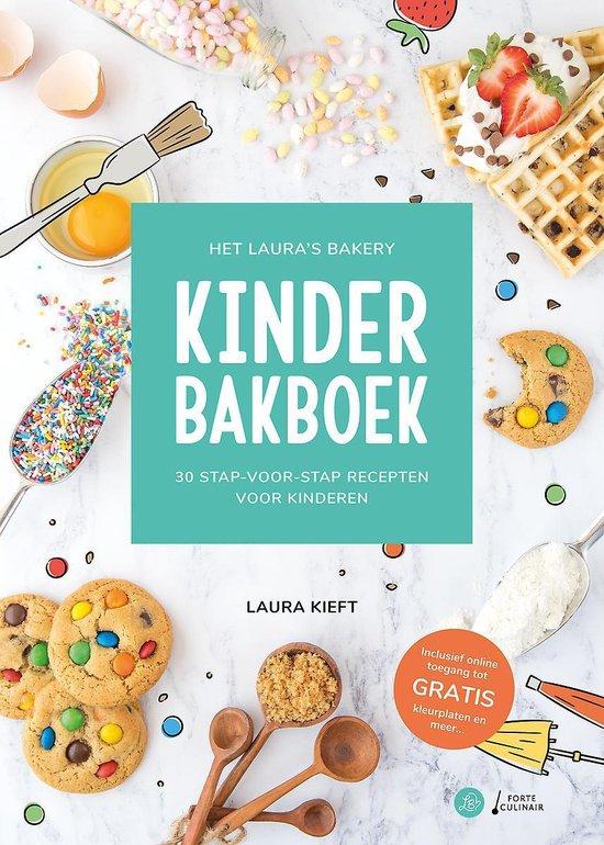 laura's bakery kinder bakboek Koeken met M&Ms