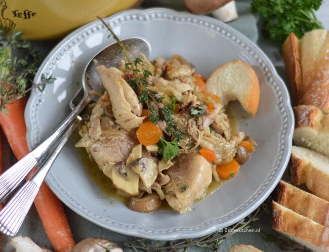 recept coq au vin © bettyskitchen.nl