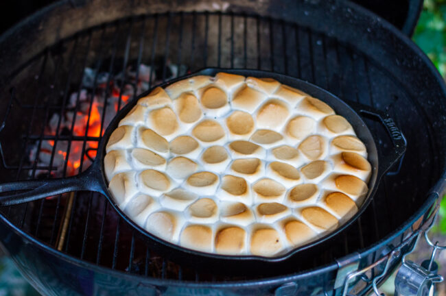 recept s'mores op de barbecue bereiden © bettyskitchen.nl