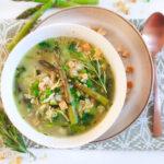 recept groene minestrone met risotto soep © bettys kitchen