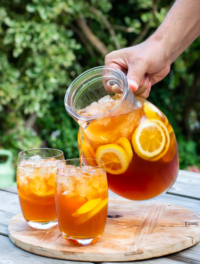 recept voor zelf amerikaanse ice tea maken © bettyskitchen.nl