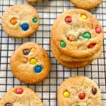 recept voor koekjes met M&Ms