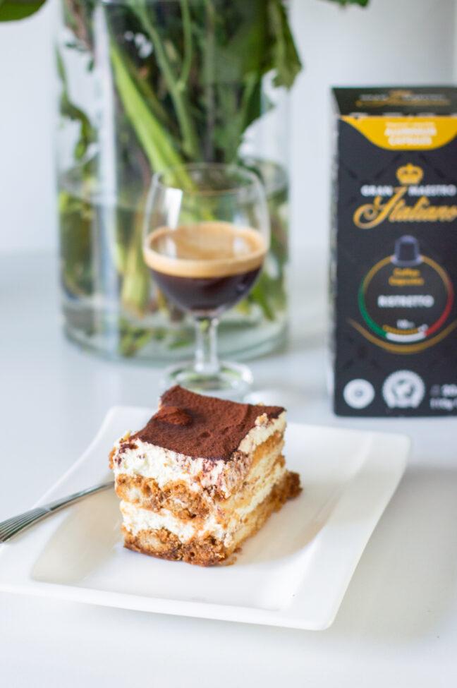 tiramisu en koffie van gran maestro italiano merk
