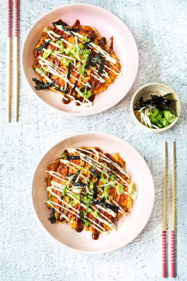 recept okonomiyaki japanse streetfood pannenkoek © bettyskitchen.nl