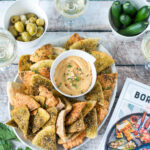recept pita chips met tahin borrel botter © bettyskitchen.nl
