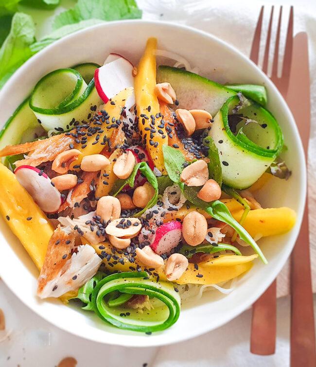 recept makreelsalade met mango © bettys kitchen