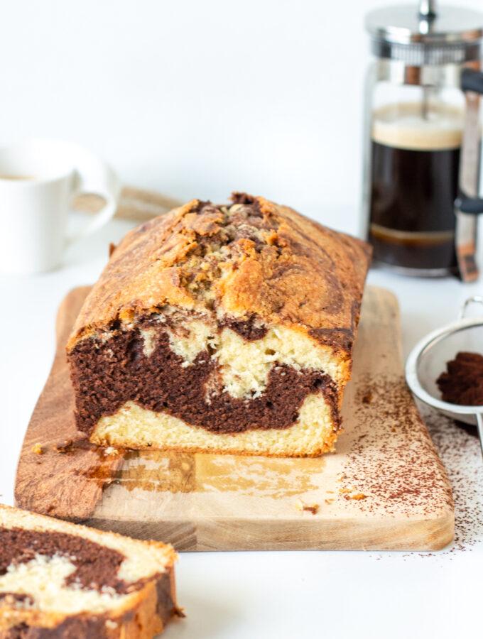 recept voor marmer cake met cacao © bettyskitchen.nl