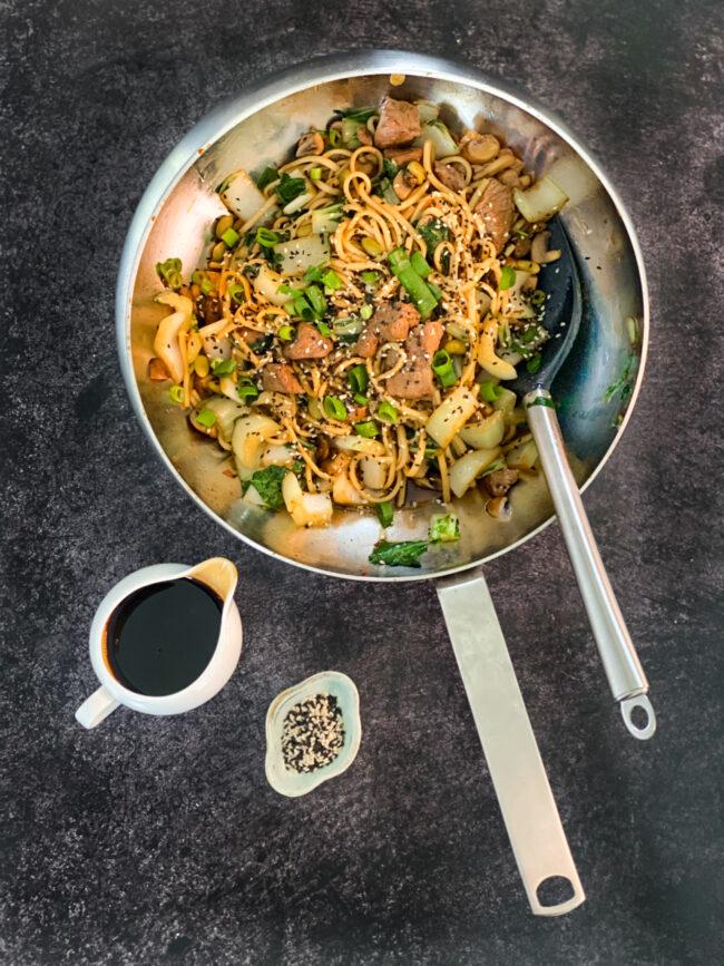 recept beef teriyaki met noodles © bettyskitchen.nl