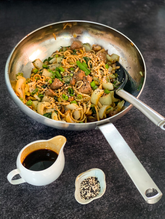 recept beef teriyaki met noodles © bettyskitchen.nl