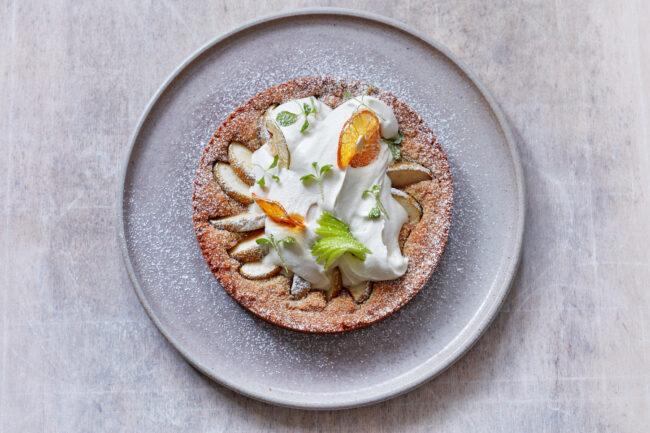 recept vegan appeltaart met flora plantbased