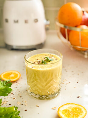 recept golden milk ontbijt smoothie © bettyskitchen.nl