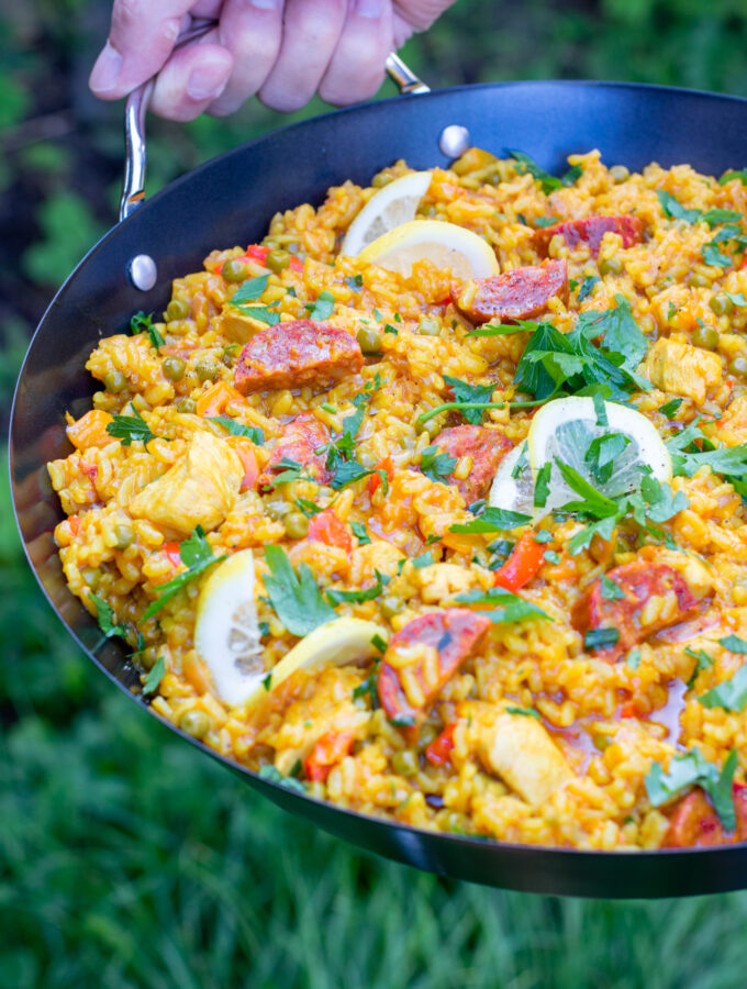 recept paella met kip en chorizo © betty's kitchen