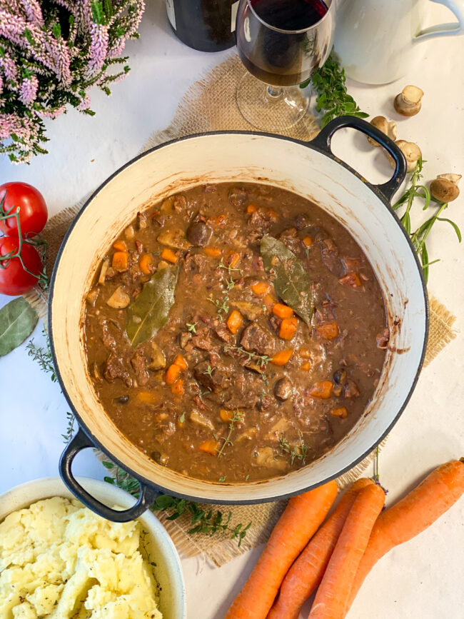 recept boeuf bourgignon stoofvlees met wijn © bettyskitchen.nl