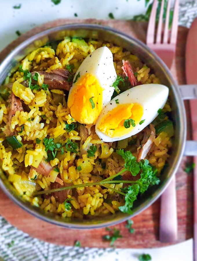 recept indiase kedgeree met gerookte makreel © bettyskitchen.nl