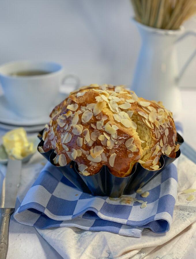 Recept voor klassieke brioche brood maken met gist
