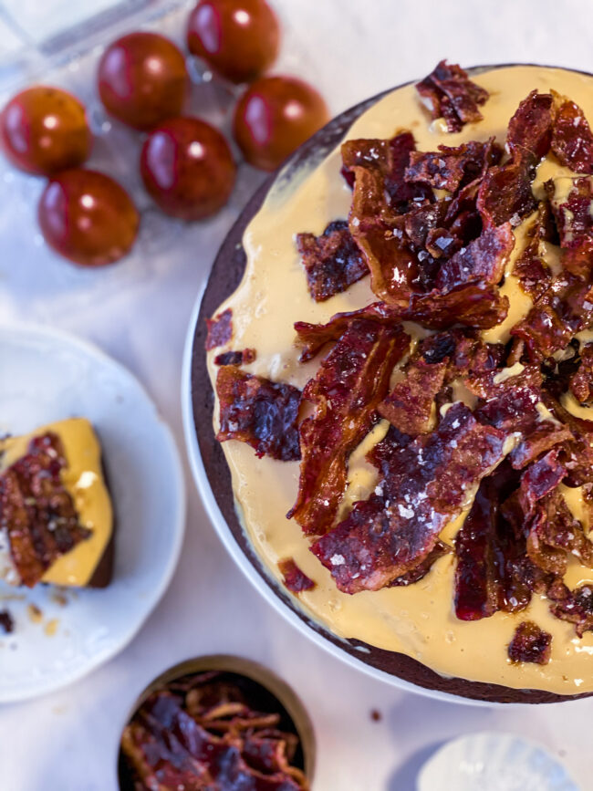 recept chocoladecake met bacon en karamel © bettyskitchen.nl
