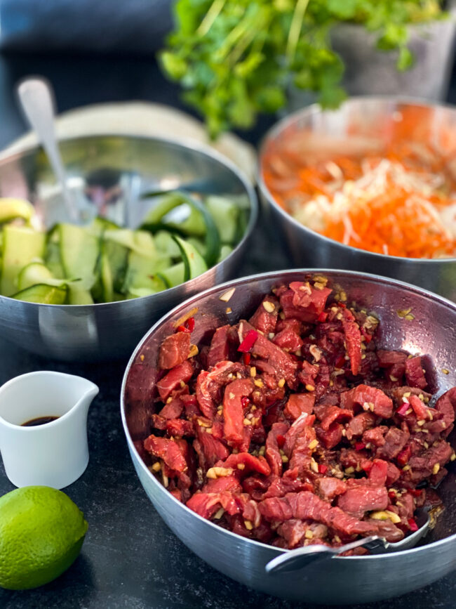 recept Koreaanse biefstuk wraps © bettyskitchen.nl