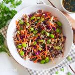 recept vegetarische aziatische noodles salade © bettyskitchen.nl