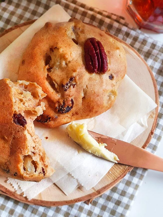 recept kwarkbollen met peer en kaneel © bettyskitchen.nl
